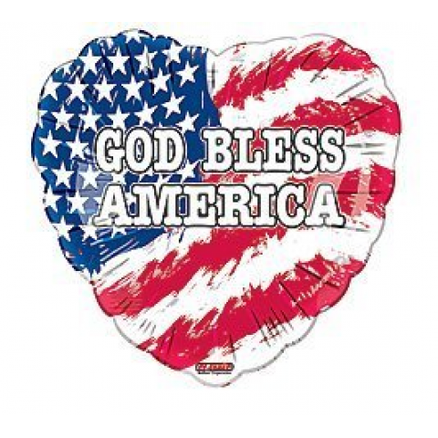 God Bless America Mylar