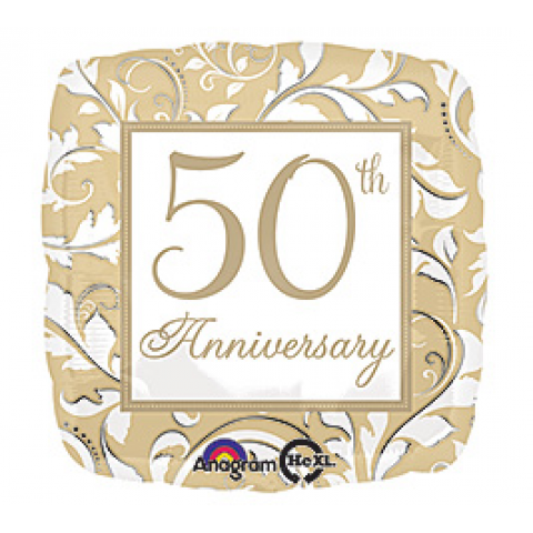 50th Anniversary Mylar