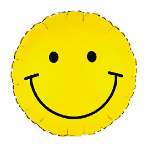 Smiley Face Mylar