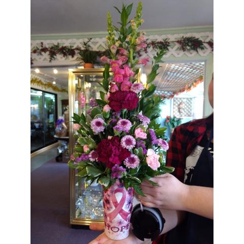 Hope Travel Mug Bouquet