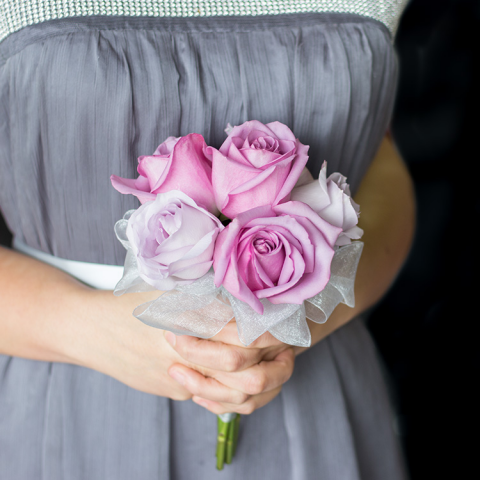 Lavender Rose Attendent Bouquet