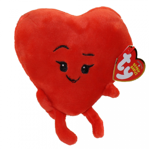 Ty Beanie Emoji Movie Heart Plush