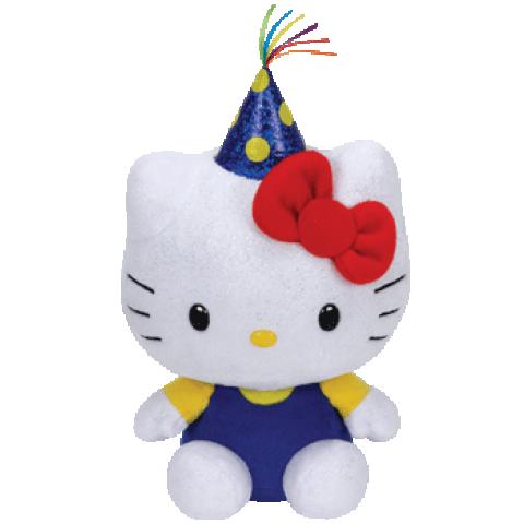Hello Kitty Birthday Stuffed