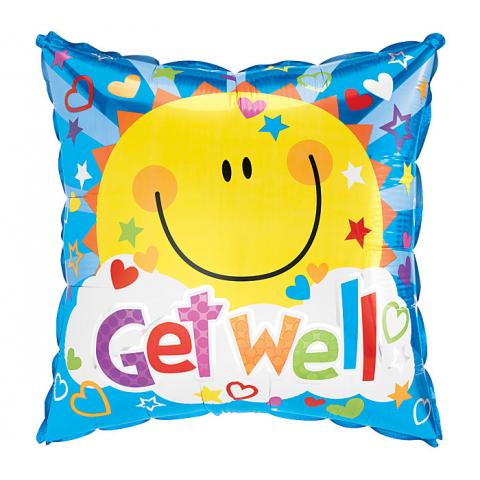 Get Well Soon Sunshine Mylar