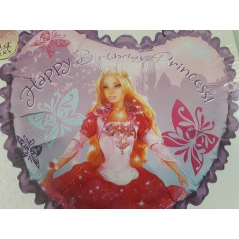Jumbo Barbie Birthday Balloon