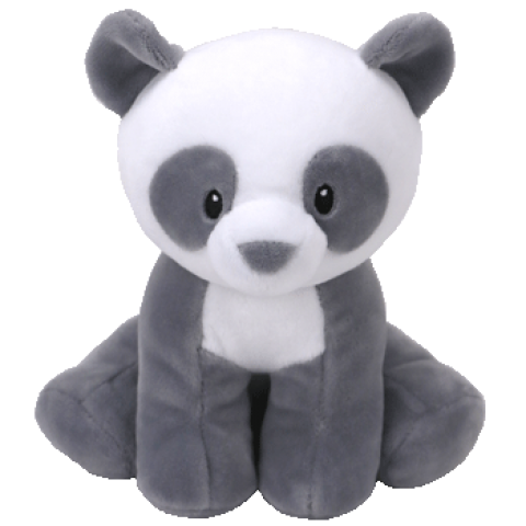Mittens the Grey Panda