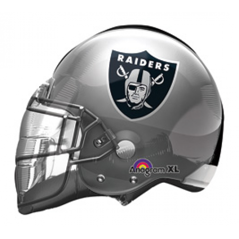 Large Raiders Helmet Balloon