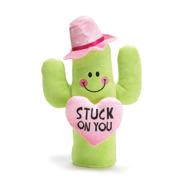 PLUSH STUCK ON YOU COWBOY CACTUS