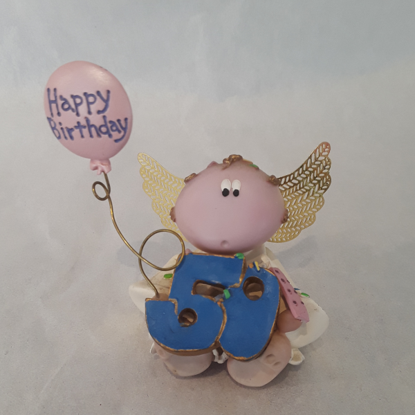 Angel Cheeks Collectible- 50th Birthday