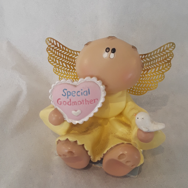 Angel Cheeks Collectible- God Mother