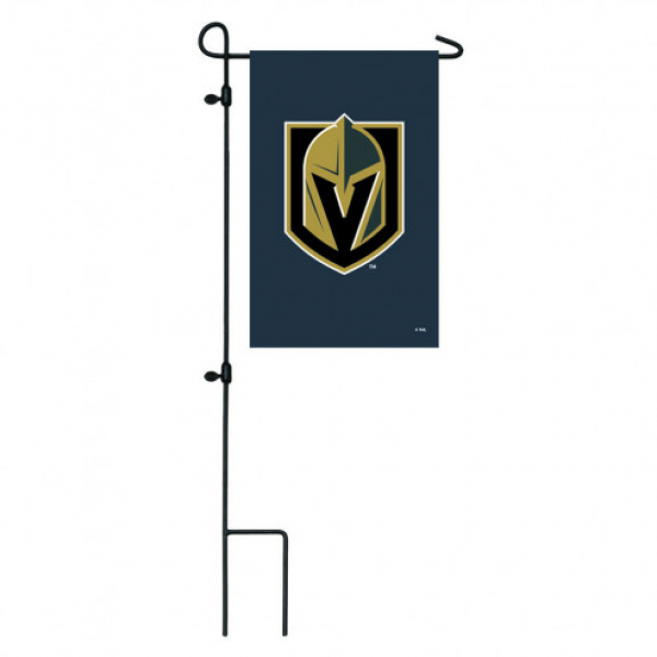 Vegas Golden Knights Appliqué Garden Flag