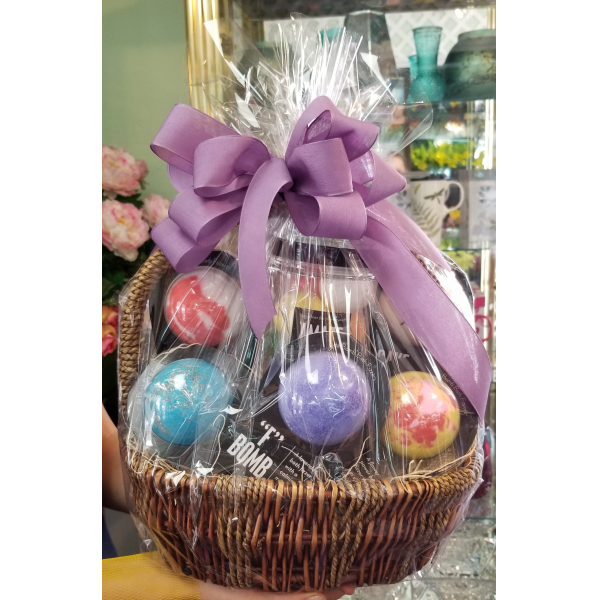 Bath Bomb Ultimate Basket