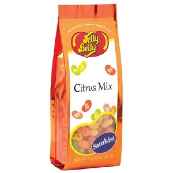 Sunkist® Citrus Mix Jelly Beans - 7.5 oz Gift Bag