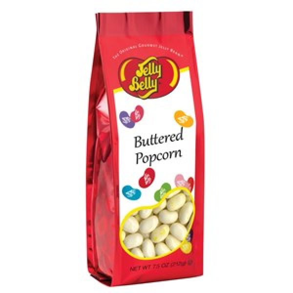 Buttered Popcorn Jelly Beans - 7.5 oz Gift Bag