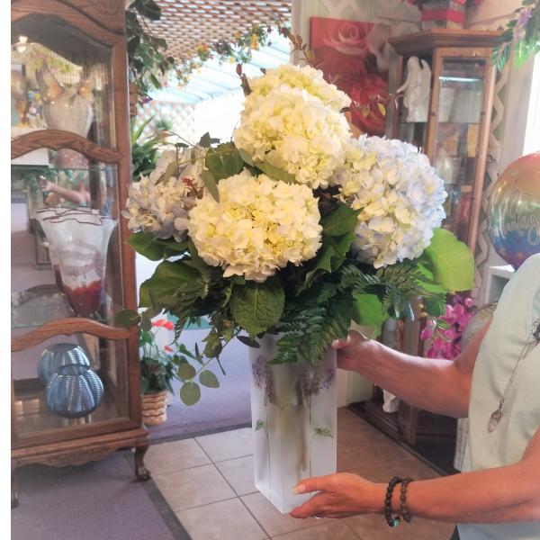 Hydrangea Garden Bouquet