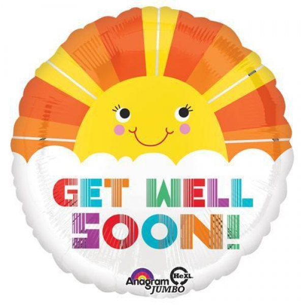 Get Well Soon Smiley Sunshine 28