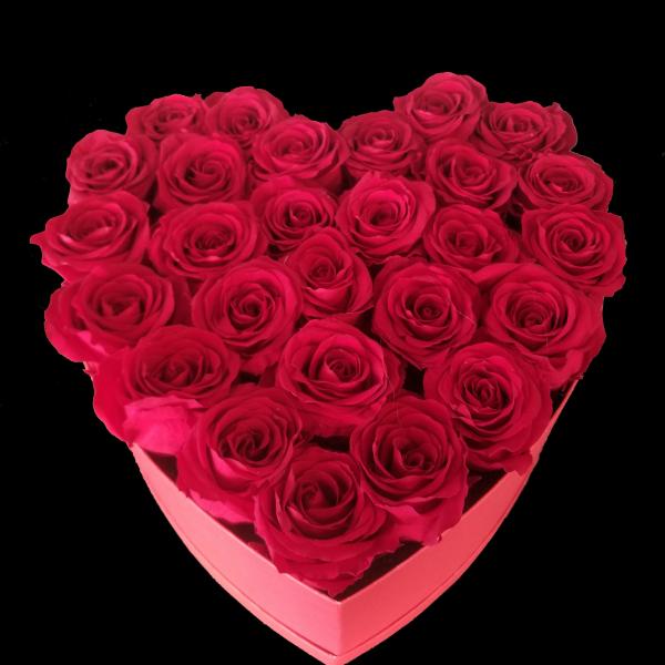 Forever Roses Large Heart