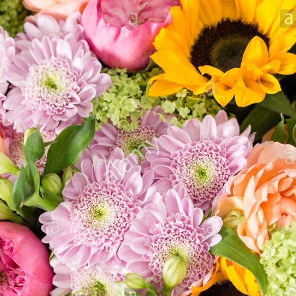 Brighten Their Day Bouquet