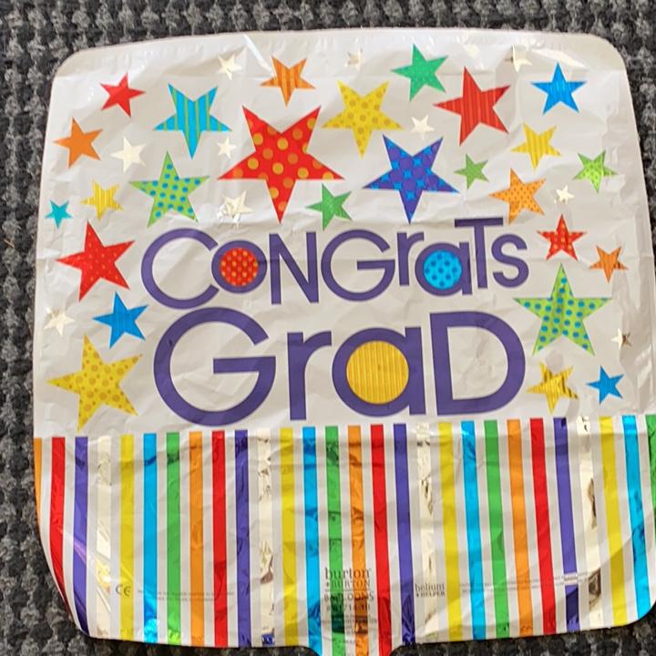 Congrats Grad Stars and Stripes