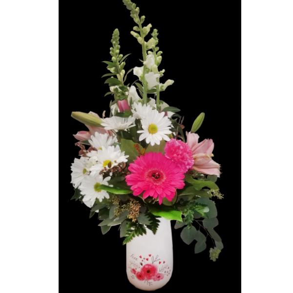 Love, love, love bouquet