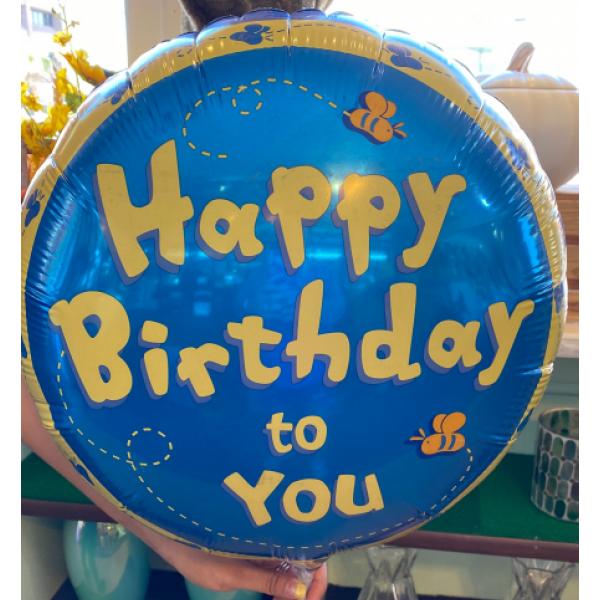 Happy Birthday To You Mylar