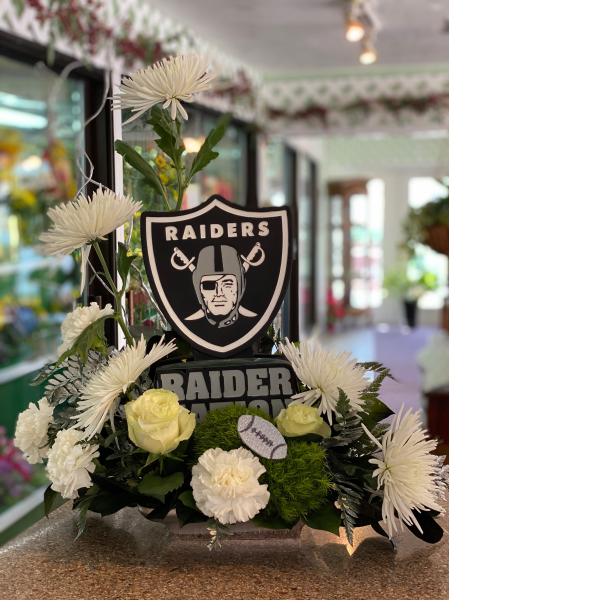 Raider Nation centerpiece
