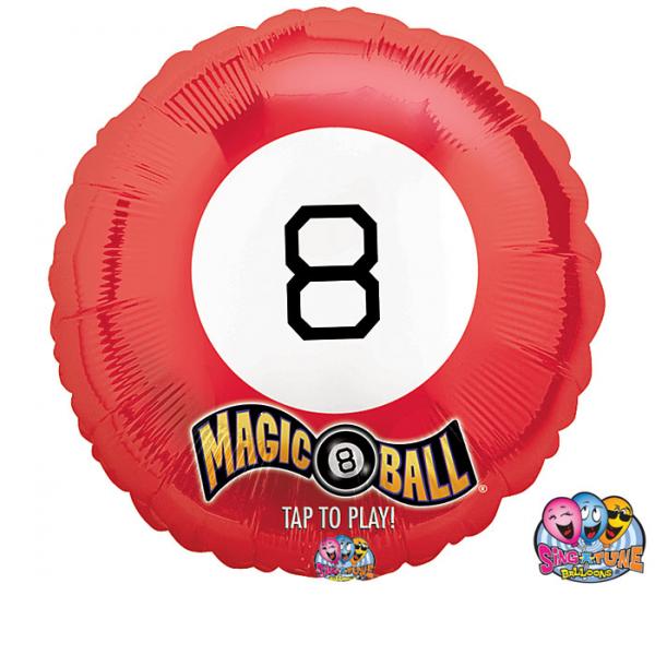 Magic 8 Ball Balloon