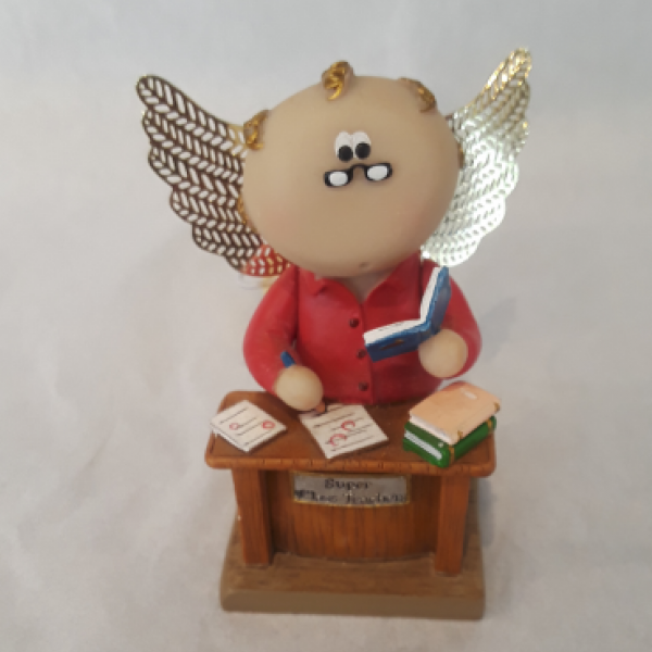 Angel Cheeks Collectible- Teacher