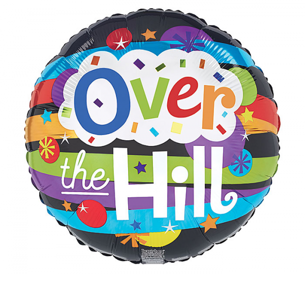 OVER THE HILL STRIPES MYLAR