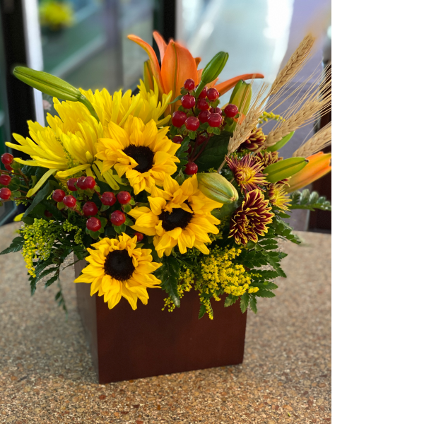 Fall Fashion bouquet
