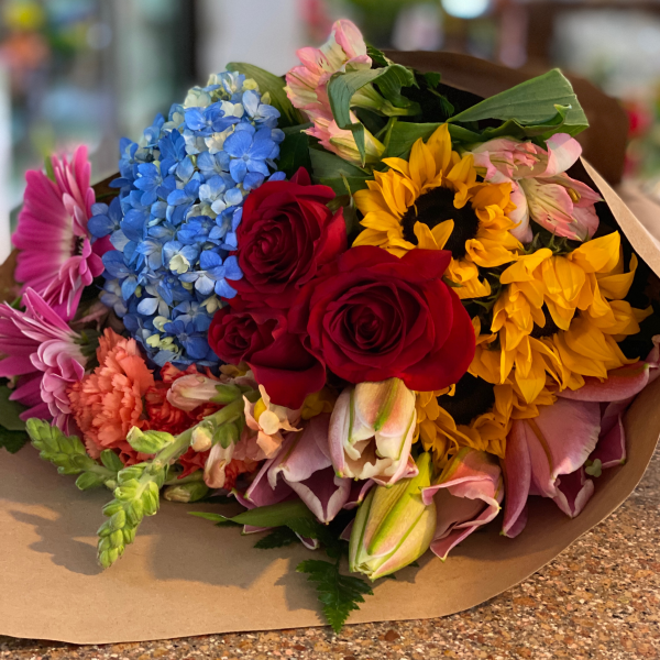 Pick Up Only - Loose wrapped flowers