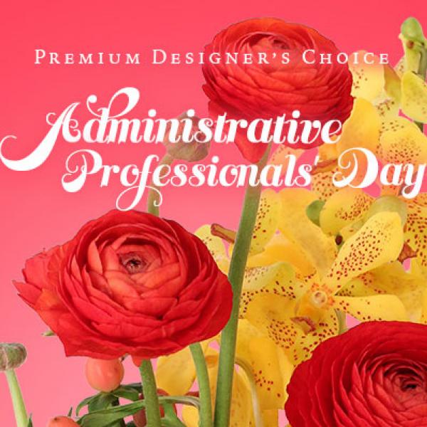 Admin Professionals Premium Designers choice bouquet