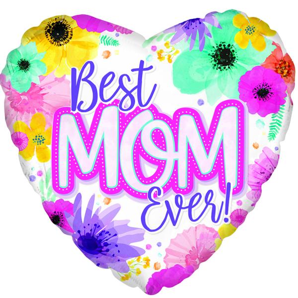 BEST MOM EVER MYLAR