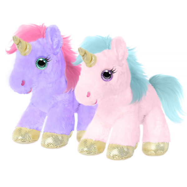 Unicorns (pink & lavender) 10 in.