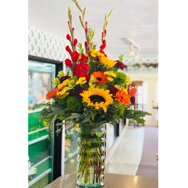 Splendid Fall Vase