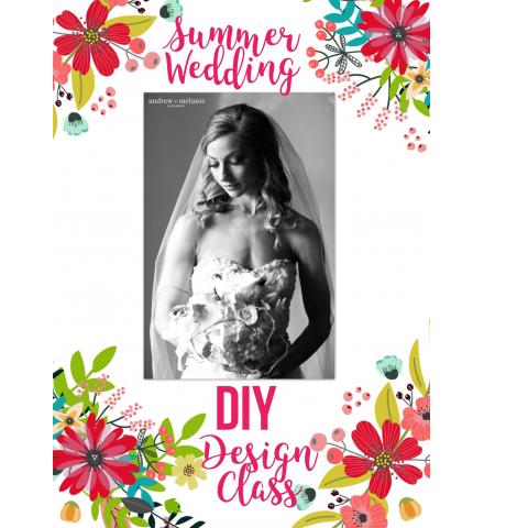 August 12th - Wedding Basics Design Class