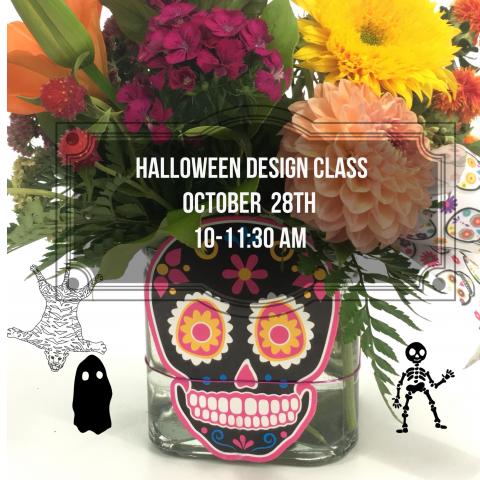 Design Class - Halloween Centerpiece