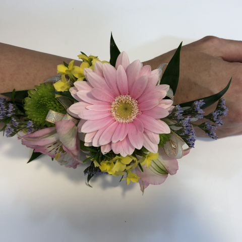 Mixed Flower Wristlet Corsage