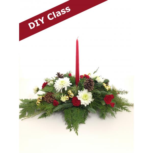 DIY Class - Holiday Centerpiece