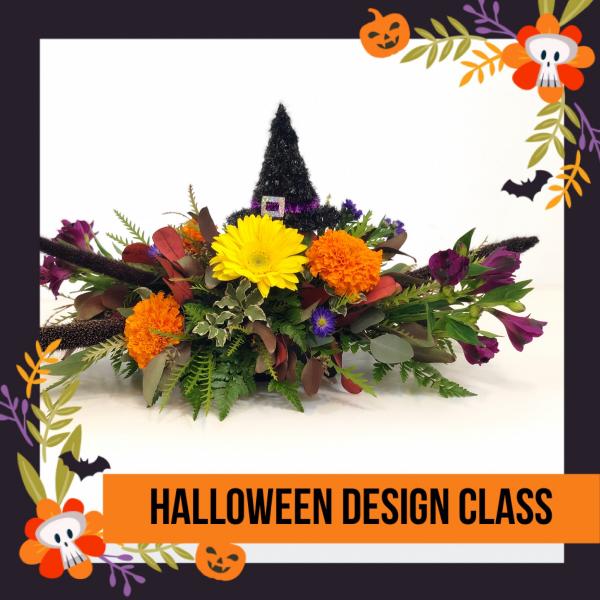 DIY - Halloween Arrangement