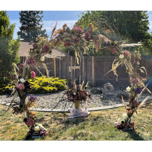 Bohemian / Boho Style Wedding Arch