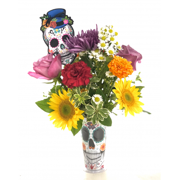 The Day Of The Dead Tumbler