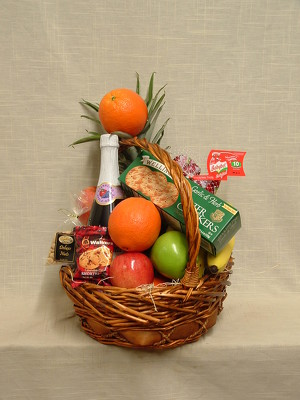 Gourmet Basket with Fruit