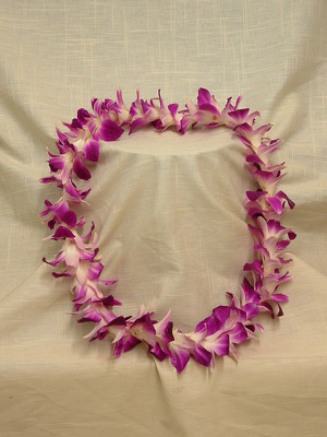 Single Bombay Orchid Lei