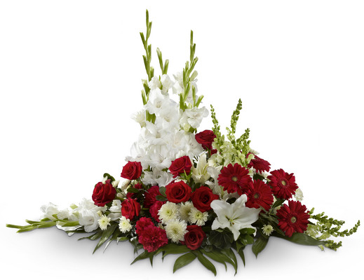 The FTD® Crimson & White(tm) Arrangement
