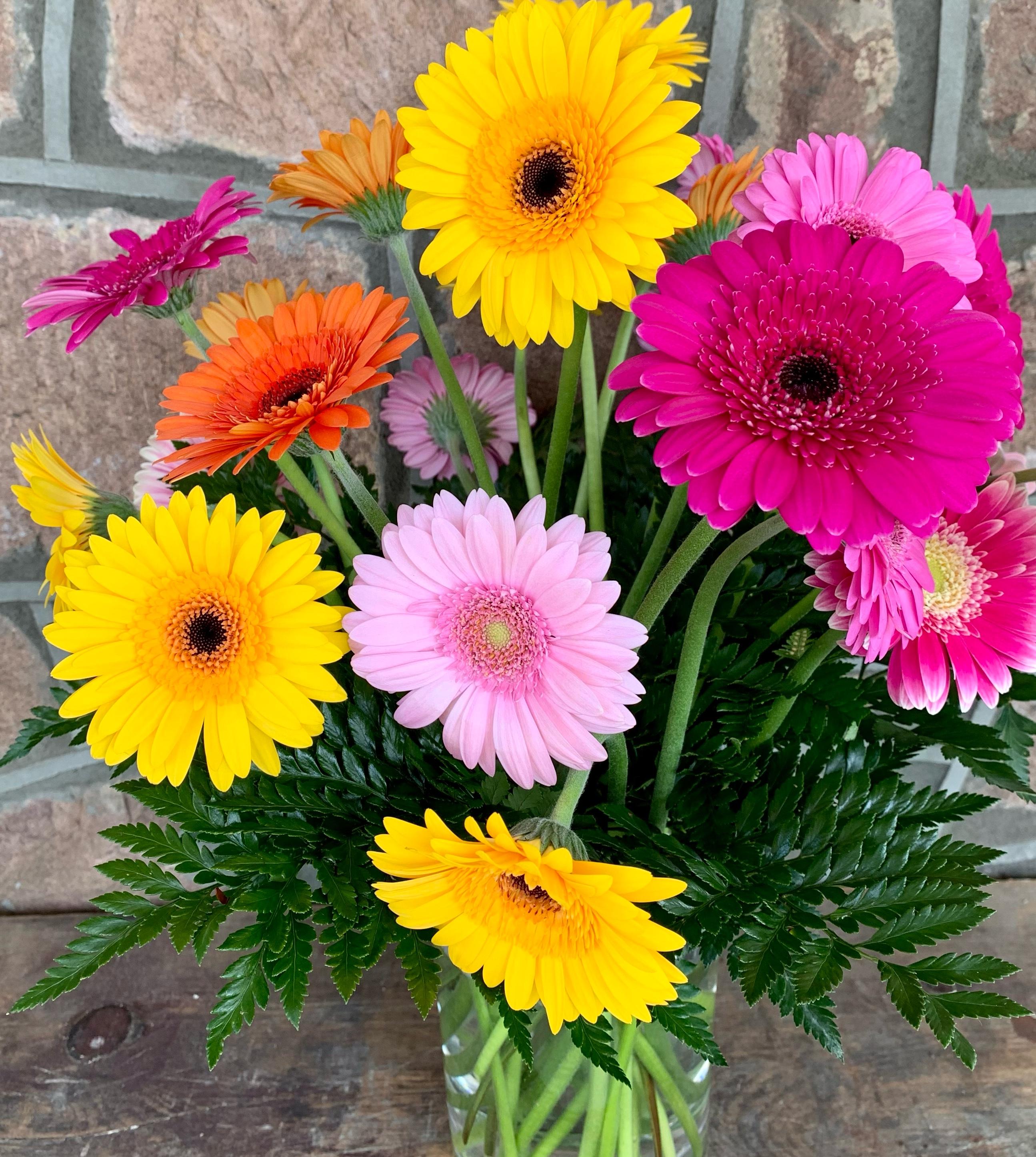 Gorgeous GerberDaisy Vase