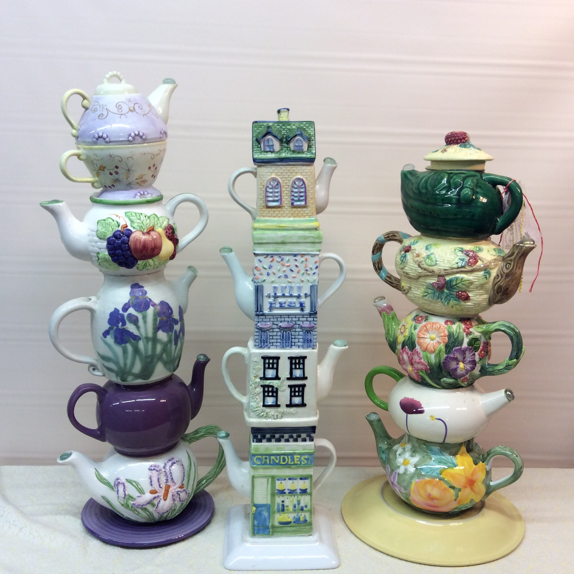 Towers of Teapots