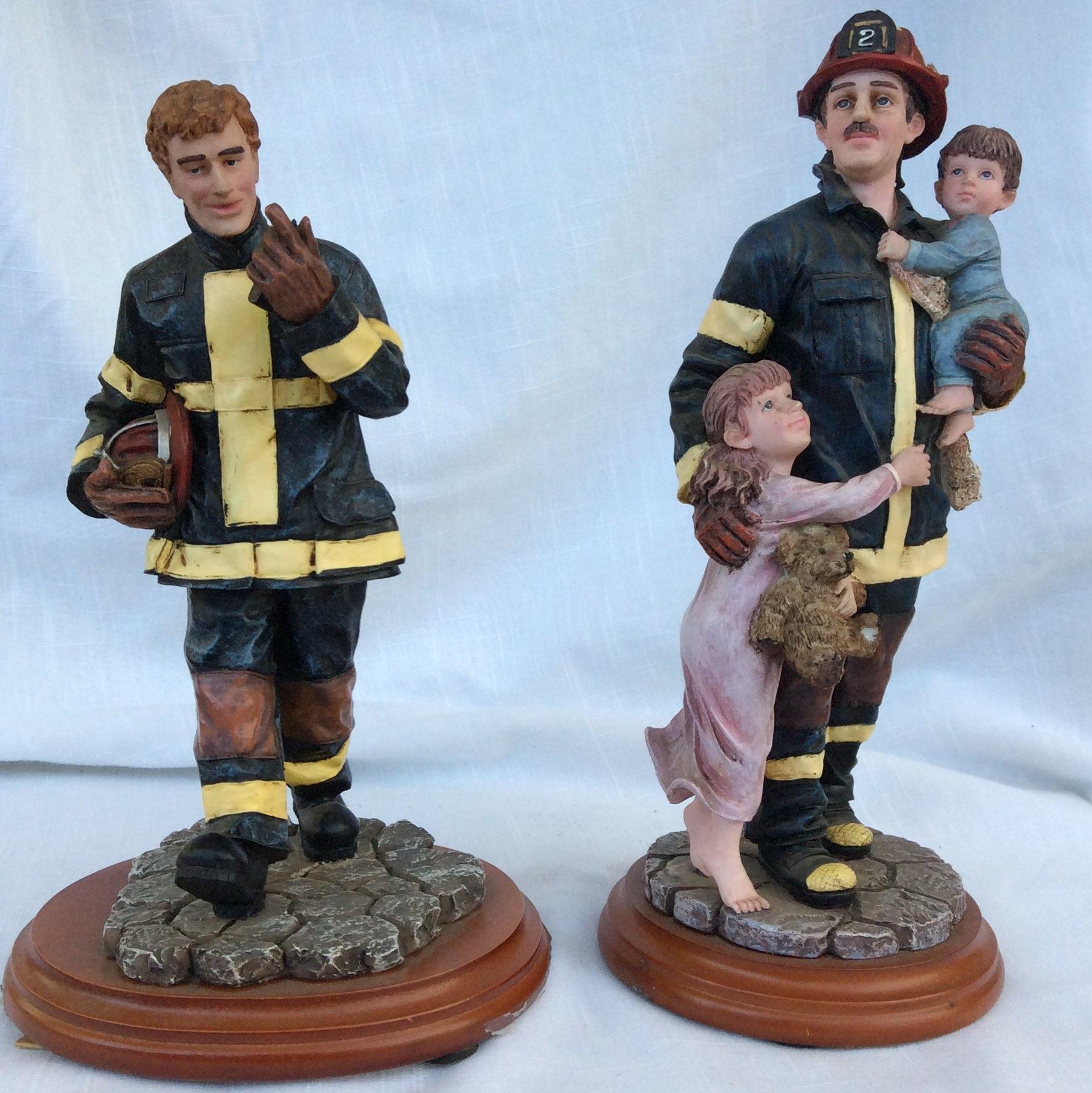 Firemen Redhats of Courage