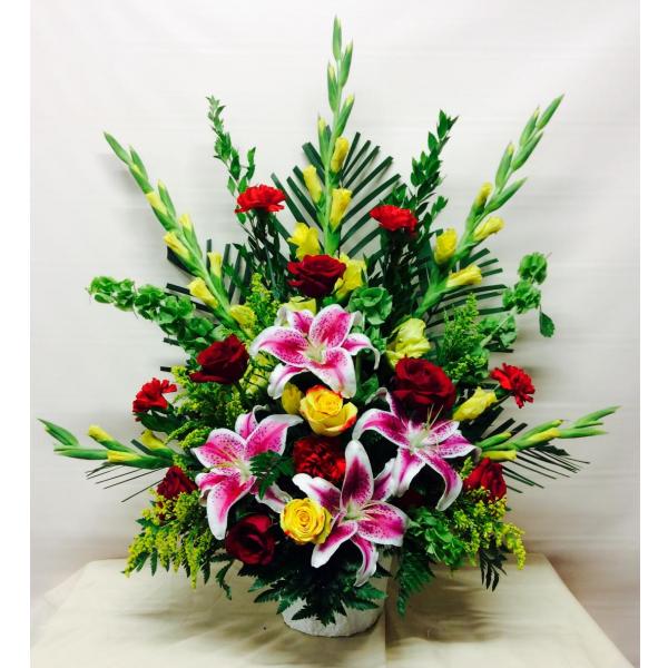 Florist Designed Container Arrangement