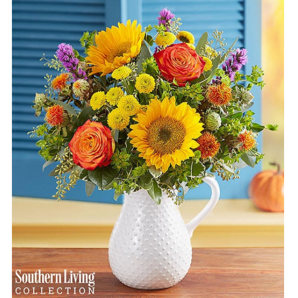 Fall Farmhouse Pitcher by Southern Living®